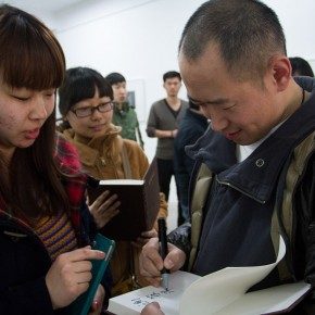 """07 View of """"Review What You Have Learned and Learn the New Wu Jiang's Woodcut""""  290x290 - """"Review What You Have Learned and Learn the New: Wu Jiang's Woodcuts"""" Held at the Central Academy of Fine Arts"""