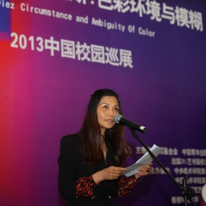 """08 Opening Ceremony of Carlos Cruz-Diez """"Circumstance and Ambiguity of Color"""""""