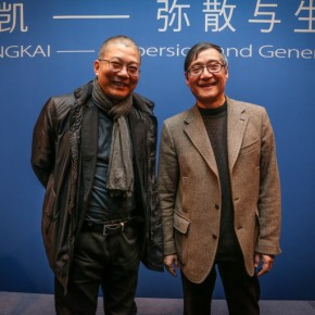 "10 The Opening Ceremony of ""Dispersion and Generation"" 290x290 - Raise Question for Chinese Art: Large-scaled Solo Exhibition ""Dispersion and Generation"" of Pan Gongkai opened in Beijing"