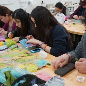 10 Workshop of Felt' Art World at CAFA with Fibre Artist Debbie Leung from Hong Kong 290x290 - Workshop of Felt's Art World at CAFA with Fibre Artist Debbie Leung from Hong Kong