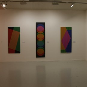 """14 Installation View of Carlos Cruz-Diez """"Circumstance and Ambiguity of Color"""""""