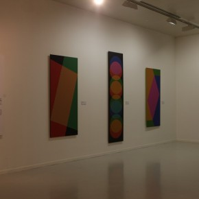 """15 Installation View of Carlos Cruz-Diez """"Circumstance and Ambiguity of Color"""""""