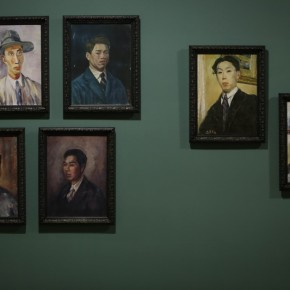 """15 Installation View of Long lasting Fragrance – Study on Li Shutong' Oil Paintings at CAFAM 290x290 - """"Li Shutong's Self-Portrait"""" Reached the CAFA Art Museum and Successfully Fixed on the Wall"""