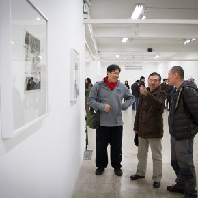 """16 View of """"Review What You Have Learned and Learn the New Wu Jiang's Woodcut"""" 290x290 - """"Review What You Have Learned and Learn the New: Wu Jiang's Woodcuts"""" Held at the Central Academy of Fine Arts"""