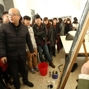 "20 Installation View of Wang Huanqings Solo Show at CAFA 290x290 - ""Art Interactive Installation"" Artist Wang Huanqing Invited by CAFA to Hold His Solo Teaching Exhibition"
