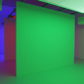 """25 Installation View of Carlos Cruz-Diez """"Circumstance and Ambiguity of Color"""""""