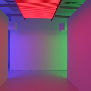 """27 Installation View of Carlos Cruz-Diez """"Circumstance and Ambiguity of Color"""""""