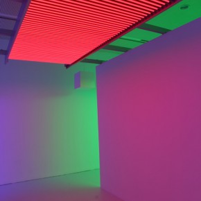 """28 Installation View of Carlos Cruz-Diez """"Circumstance and Ambiguity of Color"""""""