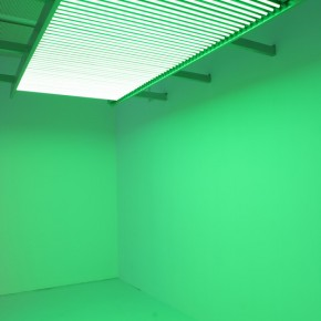 """29 Installation View of Carlos Cruz-Diez """"Circumstance and Ambiguity of Color"""""""