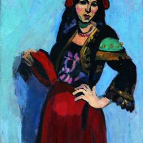 "Feng Zhen Copy of Matisse's works ""Woman with a Hat"" 88 x 69 cm Collection CAFA Art Museum 290x290 - The 20th China's Art Road - Studying in the Soviet Union Inaugurated at National Art Museum of China"
