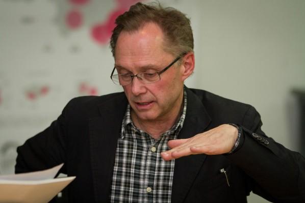 Interview with Bernhard Serexhe, Chief Curator of ZKM  Karlsruhe 02 Photo by Hu Zhiheng, Photo by Hu Zhiheng