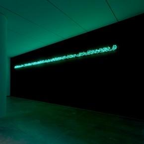 "Moataz Nasr bn Arabi 2011 Green Neon 40 x 1200 cm Photo by Anders Sune Berg © Faurschou Foundation 290x290 - Faurschou Foundation unveils its group exhibition ""Every Day Matters"" in Copenhagen"
