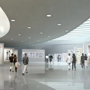 "Pan Gongkais Architectual Work Shangdong Art Museum Scheme 01 290x290 - ""Pan Gongkai: Dispersion and Generation"" at Today Art Museum Opens Mar. 9, 2013"
