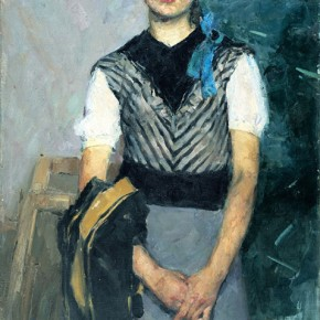 "Quan Shanshi ""Female Student"" 1958 oil painting 125 x 75 cm 290x290 - The 20th China's Art Road - Studying in the Soviet Union Inaugurated at National Art Museum of China"