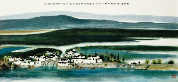 Resting on Regions South of the Yangtze River Fang Jun Solo Exhibition 03