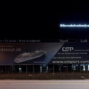"Shilpa Gupta Wheredoiendandyoubegin 2012 Neon 62x800cm Photo by Anders Sune Berg ©Faurschou Foundation 03 290x290 - Faurschou Foundation unveils its group exhibition ""Every Day Matters"" in Copenhagen"