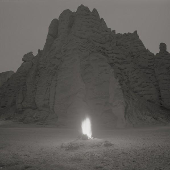 """Taca Sui, """"Blaze"""", 2012; Platinum Print, 20x20cm, Edition of 6"""