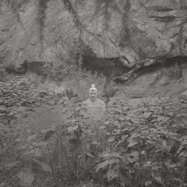 "Taca Sui, ""Emperor's Prowess"", 2012; Platinum Print, 20x20cm, Edition of 6"