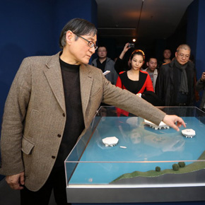 "Raise Question for Chinese Art: Large-scaled Solo Exhibition ""Dispersion and Generation"" of Pan Gongkai opened in Beijing"