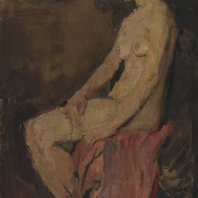 "Zhou Benyi ""Female Nude"" 1960 oil painting 155 x100 cm 290x290 - The 20th China's Art Road - Studying in the Soviet Union Inaugurated at National Art Museum of China"