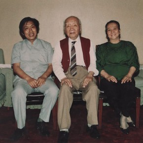 03 Group photo of Liu Haisu and his wife Dong Xinbin in Beijing in 1989 290x290 - Zealous Guests– Memorial Exhibition for the 10th Anniversary of Dong Xinbin's Death at Yan Huang Art Museum