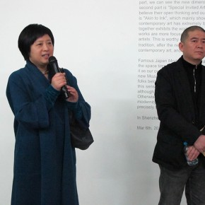 26 Jin Weihong addressed at the opening ceremony 290x290 - Re-Ink: Invitational Exhibition of Chinese Contemporary Ink and Wash Painting 2000-2012 on view at Today Art Museum