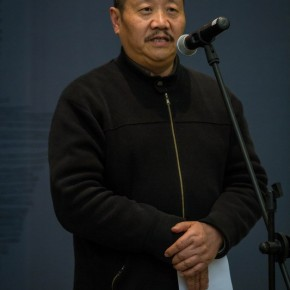 26 Prof. Xu Zhong ou at the Opening of Reflection Han Jiaying's Exhibition of Design 290x290 - Reflection: Han Jiaying's Solo Exhibition Featuring His Design Opened at the CAFA Art Museum