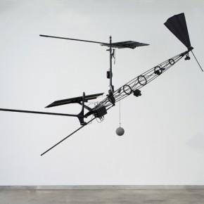 "Björn Schülke Germany""Luftraum 1″ 335 x 6.5 x 200 cm installation 2012 290x290 - Transposition: Motion is Action – An International Media Art Exhibition"