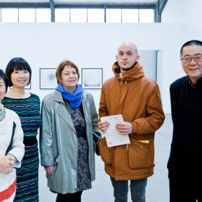 Conversations at the Opening Ceremony 01 290x290 - In The Hot Seat With Wang Huangsheng by Berlin Art Parasites