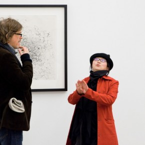 Conversations at the Opening Ceremony 02 290x290 - In The Hot Seat With Wang Huangsheng by Berlin Art Parasites