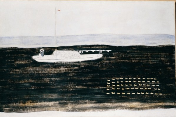 Ducks and Boat, 1930s; oil on canvas, 135x195cm