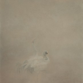 "Fan Quqi ""Dust Mirror Birds No.3"" 160 x 100 cm oil on canvas 2012 290x290 - Liu Jinghong & Fan Xuqi's Solo Exhibitions: the Third Round of ""Cream of the Corp – Youth Artists' Solo Exhibitions"""