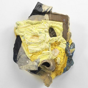 "Hilary Harnischfeger JOy 2012 Plaster porcelain paper pigment crushed glass calcite rose quartz pyrite 45.7x35.6x17.8cm 290x290 - Group exhibition ""DOWNTOWN: A View of New York's Lower East Side"" on view at James Cohan Gallery Shanghai"