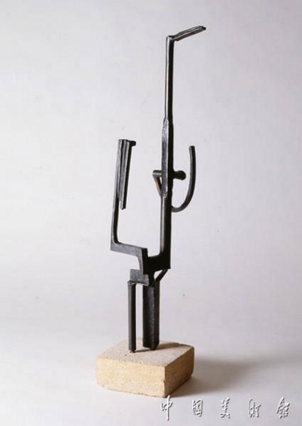 "Julio Gonzalez, ""Character Called 'Woan in the Mirror'"", sculpture, 51.5 x 12.3 x 14cm, 1934"