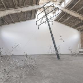 Loris Cecchini, Installation View of His Exhibition at Galleria Continua, Beijing 01