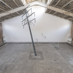 Loris Cecchini Installation View of His Exhibition at Galleria Continua Beijing 02 290x290 - Solo Exhibition by Loris Cecchini together with a special project by him and Francesco Simeti on view at Galleria Continua, Beijing