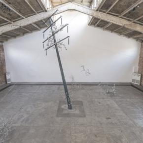 Loris Cecchini, Installation View of His Exhibition at Galleria Continua, Beijing 02