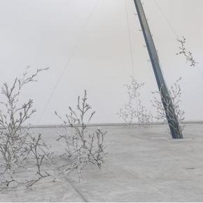 Loris Cecchini, Installation View of His Exhibition at Galleria Continua, Beijing 03