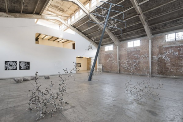 Loris Cecchini, Installation View of His Exhibition at Galleria Continua, Beijing 04