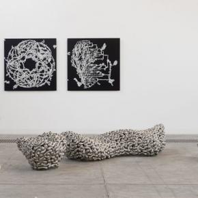Loris Cecchini, Installation View of His Exhibition at Galleria Continua, Beijing 06