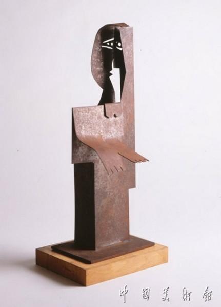 """Pablo Ruiz Picasso """"Standing Woman"""", sculpture, 42.5 x 17 x 10.5 cm, 1961"""