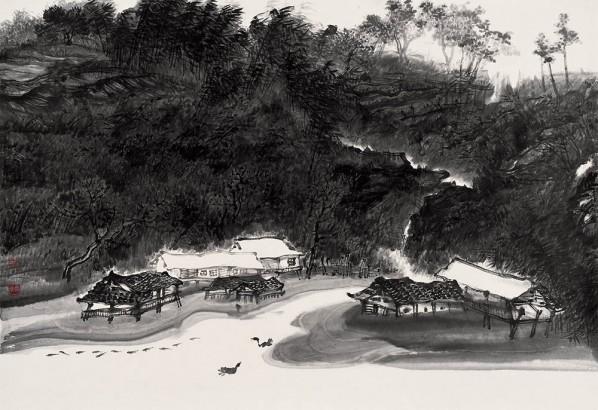 Ryu-siho's Work, 96x59cm, 2011