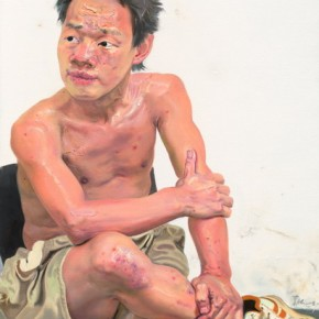 """Xin Dongwang """"The Summer Speculative"""" 160 x 80 cm 2008 290x290 - Images Generated from the Mind - Art Exhibition of Xin Dongwang"""