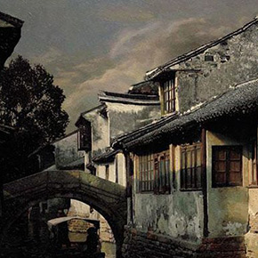 Wang Qijun: Picturesque Scene of the Jiangnan Residential (Part I)