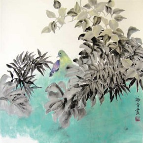 "00 Xie Qings Painting 290x290 - Yue Jieqiong: Elegantly Blooming – ""The Ladylike"" of the Works by Xie Qing"