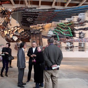 01 The Opening Ceremony of Phoenix by Xu Bing at MASS MoCA 290x290 - Xu Bing: Phoenix, Featuring Monumental Sculpture, on View at MASS MoCA