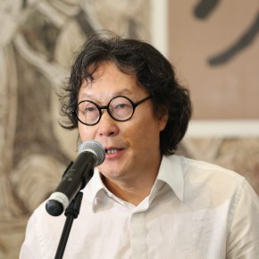 03 Xu Bing Vice President of CAFA 290x290 - Paying Special Regard to Domestic Treasure: Photography Exhibition of Shanxi Ancient Murals by Wu Pu-ao Grandly Inaugurated at CAFA Art Museum