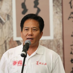 05 Zhang Genhu Party Secretary of Shanxi Provincial Federation of Literary and Art Circles 290x290 - Paying Special Regard to Domestic Treasure: Photography Exhibition of Shanxi Ancient Murals by Wu Pu-ao Grandly Inaugurated at CAFA Art Museum