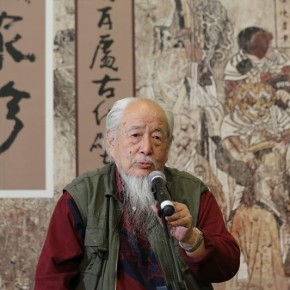 06 Hou Yimin 290x290 - Paying Special Regard to Domestic Treasure: Photography Exhibition of Shanxi Ancient Murals by Wu Pu-ao Grandly Inaugurated at CAFA Art Museum