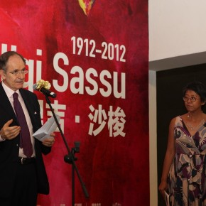 13 Opening Ceremony of THE HEART OF INNOCENCE A Centennial Retrospective of Aligi Sassu 290x290 - The Heart of Innocence – A Centennial Retrospective of Aligi Sassu Inaugurated at the CAFA Art Museum